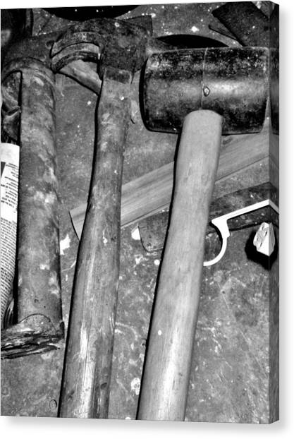 Grandpa's Tools Canvas Print