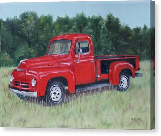 Grandpa's Truck Canvas Print