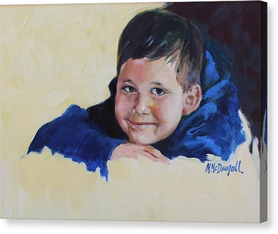 Grandson Canvas Print