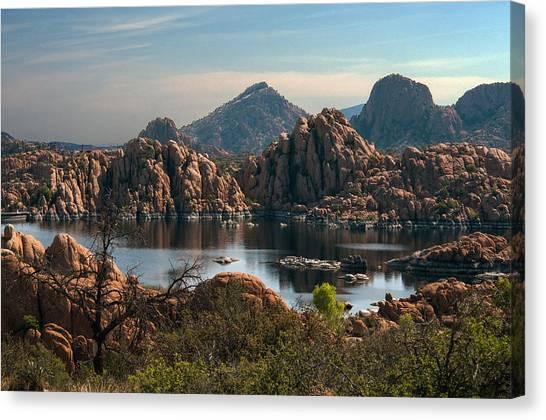 Granite Dells At Watson Lake Canvas Print