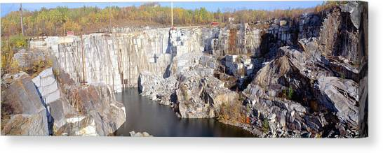 Contour Canvas Print - Granite Quarry, Barre, Vermont by Panoramic Images