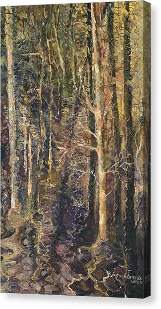 Granpepere's Woods Canvas Print