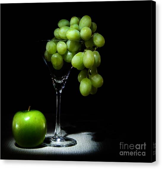 Fuselier Canvas Print - Grapes by Cecil Fuselier
