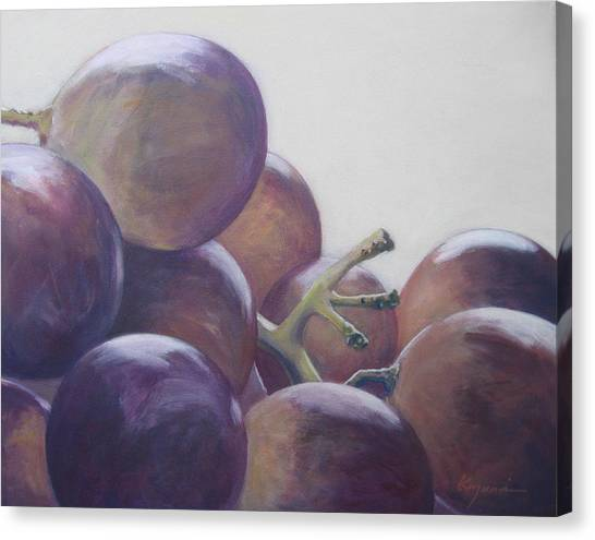 Grapes No.5 Canvas Print