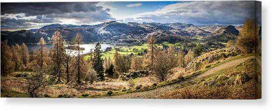 Grasmere Lake District National Park Canvas Print