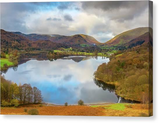 Grasmere, Lake District National Park Canvas Print by Chris Hepburn