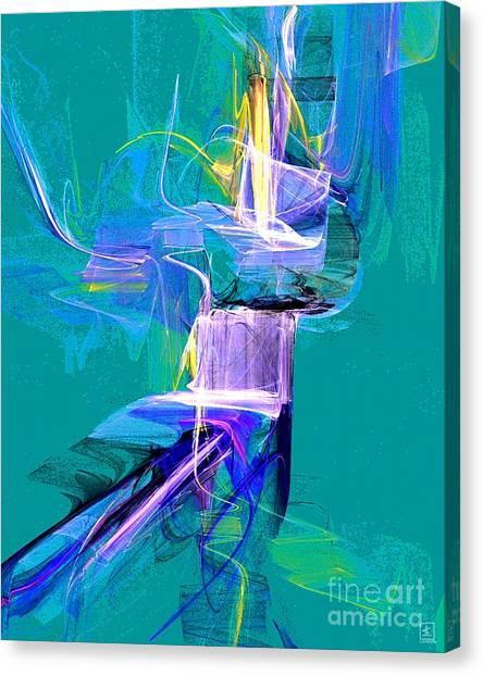 Grass Dancer Canvas Print