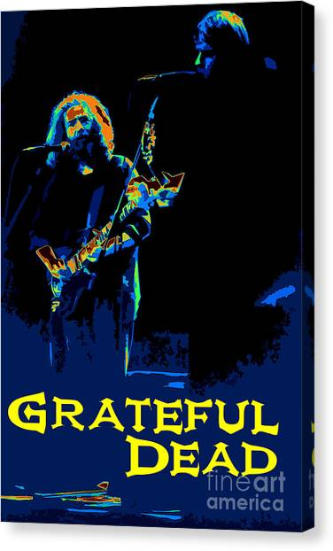 Grateful Dead - In Concert Canvas Print