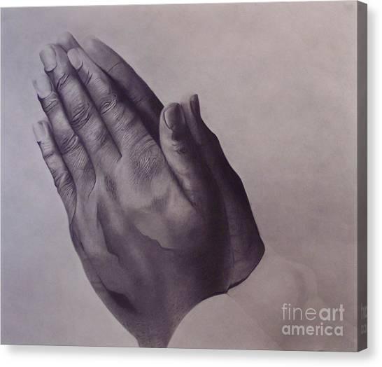 Grateful One Canvas Print