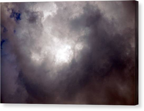 Gray Cloud Canvas Print