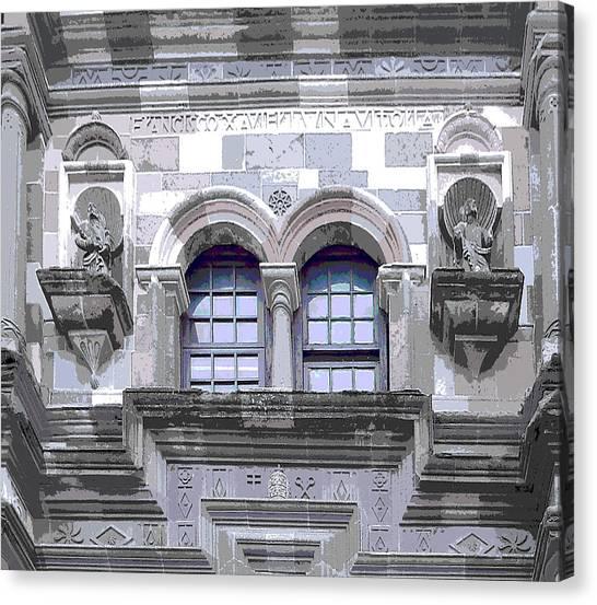 Gray Stones Canvas Print