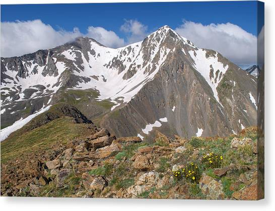 Grays And Torreys Peak Canvas Print