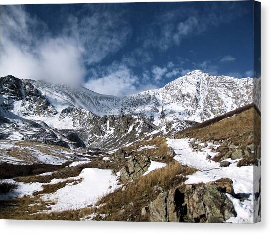 Grays And Torreys Peaks Canvas Print