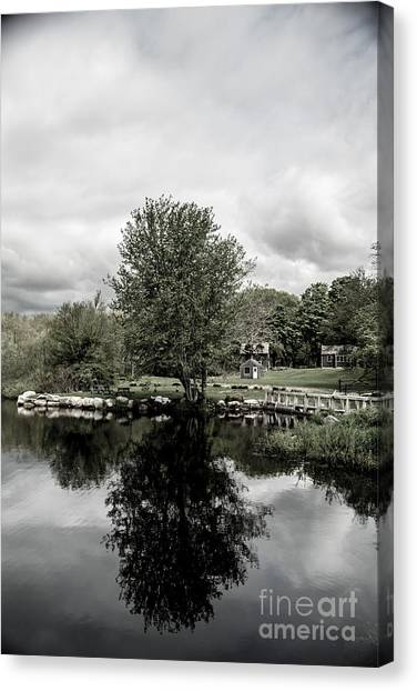 Grays Mill Pond Canvas Print