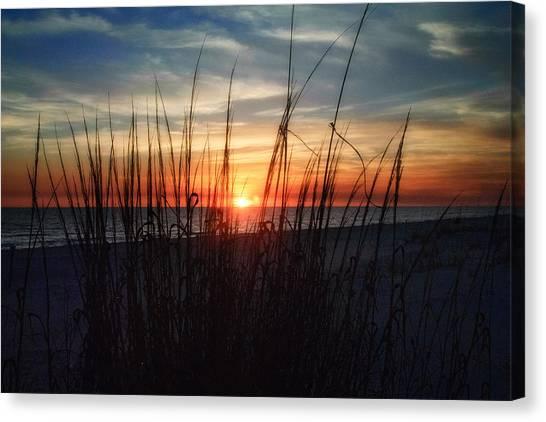 Grayton Beach Sunset 3 Canvas Print