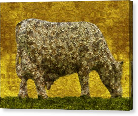 Installation Art Canvas Print - Grazing 2 by Jack Zulli