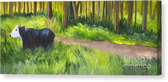 Grazing Canvas Print by Maria Williams