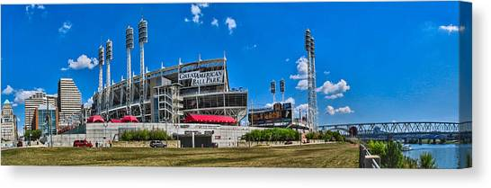 Great American Ball Park Canvas Print