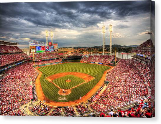 Great American Ballpark Canvas Print