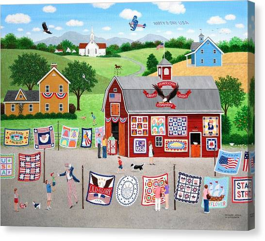 Great American Quilt Factory Canvas Print