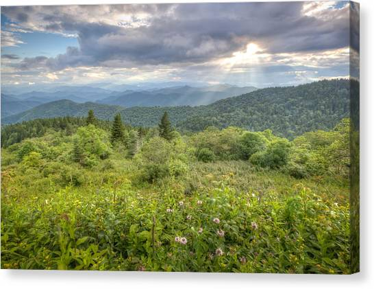 Great Balsam Mountains Canvas Print by Doug McPherson