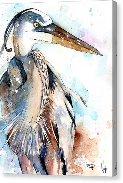 Great Blue Canvas Print