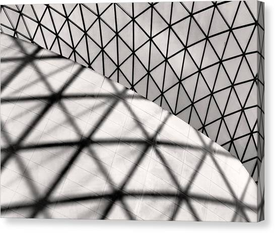 Great Court Abstract Canvas Print