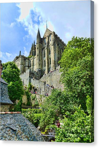 Great Day At The Mont Canvas Print