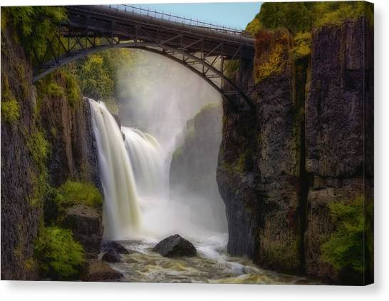 Great Falls Mist Canvas Print