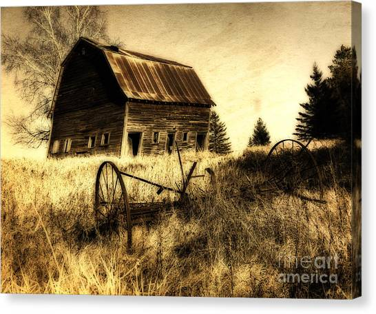 Great Grandfather's Barn II Canvas Print
