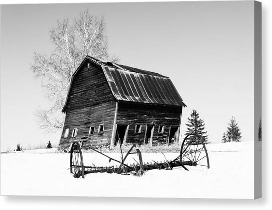 Great Grandfather's Barn Canvas Print