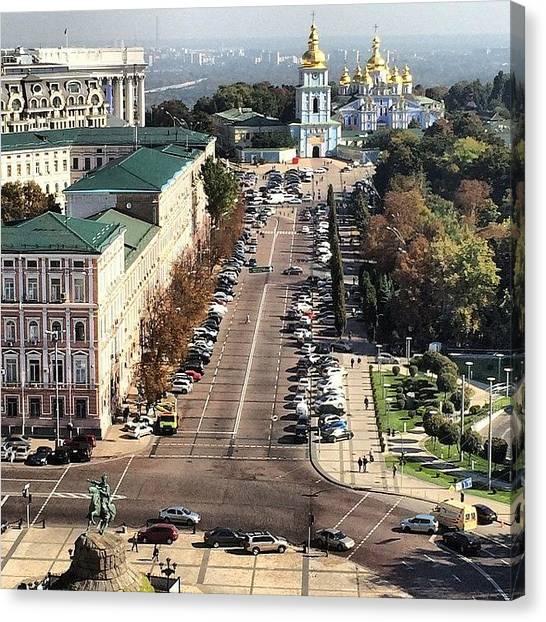 Japanese Canvas Print - #great #kiev #city #ukraine by Ryoji Japan