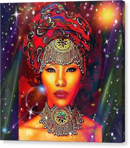 Great Lady Malkia Canvas Print