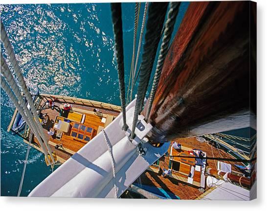 Great Lakes Tall Ship Canvas Print