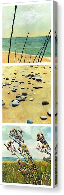Great Lakes Triptych 2 Canvas Print