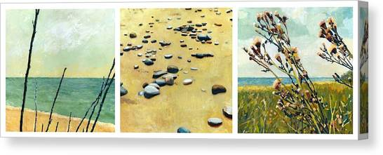 Great Lakes Triptych Canvas Print