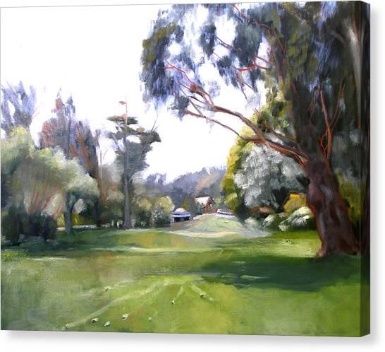 Great Meadow Golden Gate Park Canvas Print