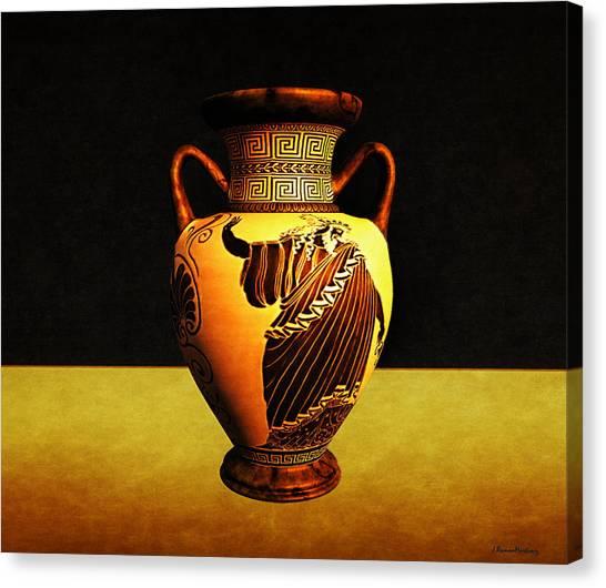 Greek Vase Canvas Prints Fine Art America