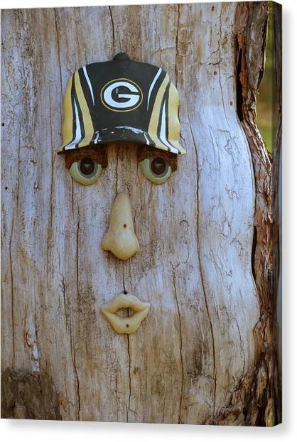 Green Bay Packer Humor Canvas Print