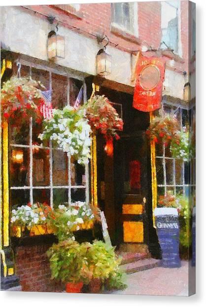 Green Dragon Tavern Canvas Print