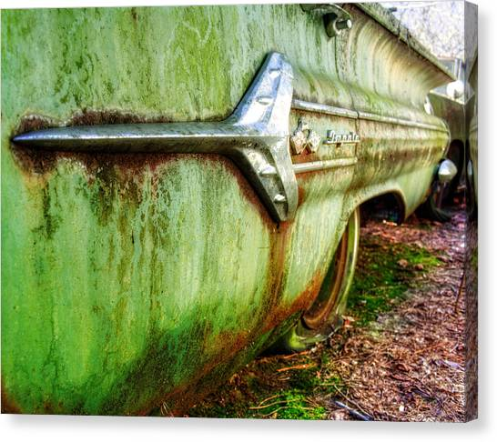 Green Impala Canvas Print
