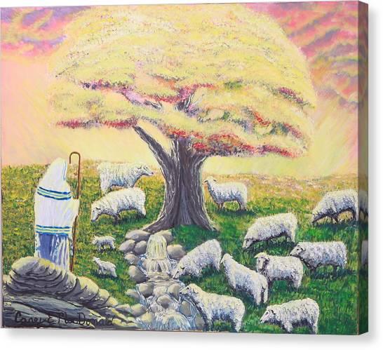 Green Pasture  Canvas Print