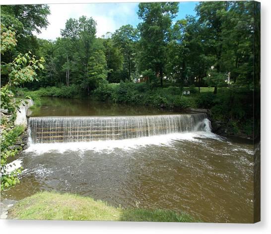 Green River Dam Canvas Print