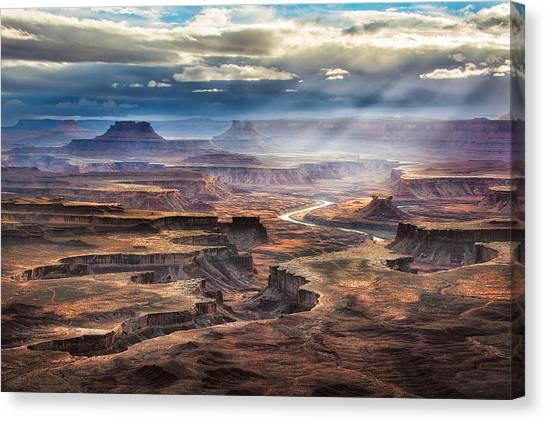 Green River Overlook Canvas Print