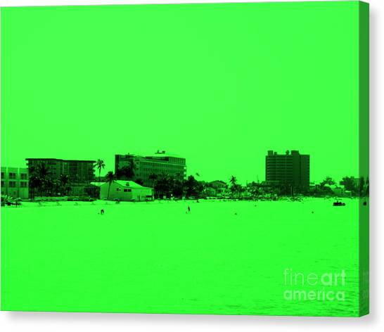 Green View. Special... Canvas Print