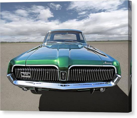Green With Envy - 68 Mercury Canvas Print