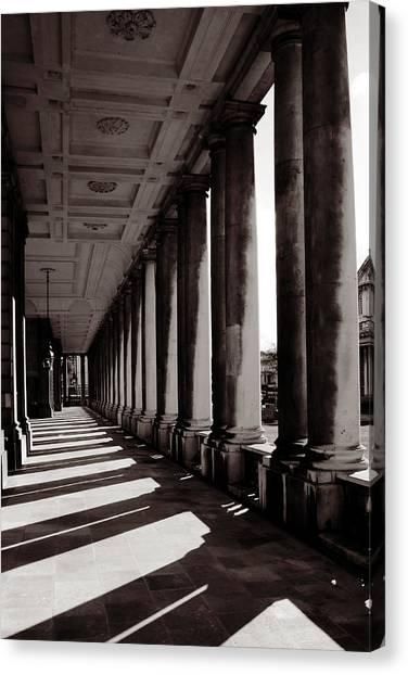 Greenwich Pillars Canvas Print by Dan Davidson