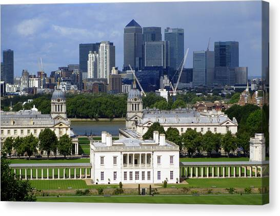 Greenwich View Canvas Print by Donald Turner
