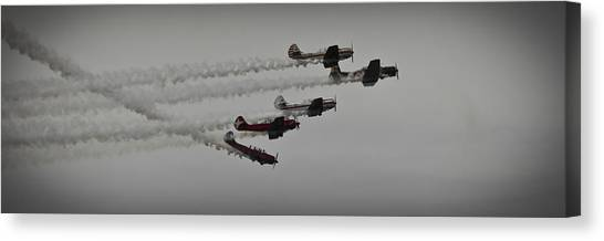 Greenwood Lake Airshow Northeast Raiders Canvas Print