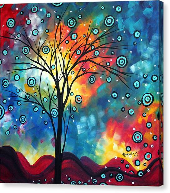 Canvas Print - Greeting The Dawn By Madart by Megan Duncanson